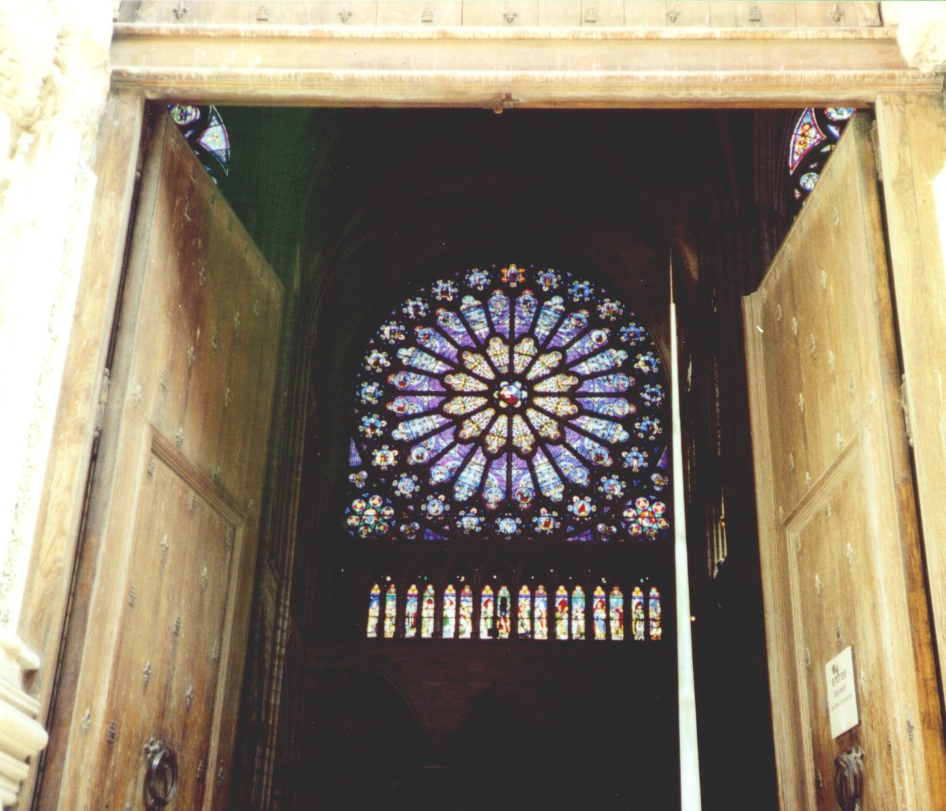 Medieval Architecture The Rose Window